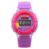 SKMEI Cool Originality LED Cute Wristwatch with Time and Date Display