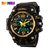 SKMEI New 2016 Luxury Brand LED Military Waterproof Wristwatch Fashion Sport Super Cool Men