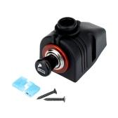 KKmoon Car Cigarette Lighter Power Socket 12V Plug with Cap