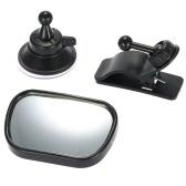 Tirol T22614 Mini Car Baby View Mirror 2 in 1 Car Rear Baby Safety Convex Mirror Adjustable