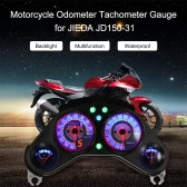 Motorcycle Backlight Odometer Speedometer Tachometer Gauge for JIEDA JD150-31