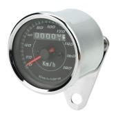 Universal LED Motorcycle 13000 RPM Tachometer + Odometer Speedometer Gauge With Bracket