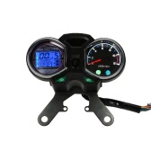 LCD Digital Backlight Motorcycle Odometer Speedometer Tachometer Gauge for Honda CG125 Series