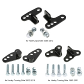 "Rear Adjustable Lowering Kit 1-3"" for Harley Touring Bike 2002-2015"