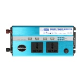 KKmoon 800W Car Power Inverter DC 12V to AC 110V 60Hz with 4 USB Ports / 2 AC Outlets