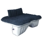 Car Air Mattress Travel Bed  Back Seat Cover Inflatable Cushions Flocking Surface Multifunction for Camping Journey