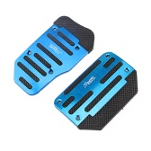 AT 3pcs/2pcs Automatic Car Auto Vehicle Non-slip Pedal Foot Treadle Brake Cover Pad Aluminium Alloy