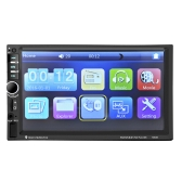 7 inch Car Video 7060B 2din 1080P Car Radio  MP5 DVD Player with Steering Wheel Remote Control and Rearview Camera