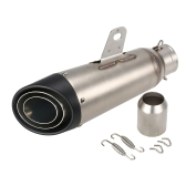 38-51mm Black Tail Refit Exhaust Muffler With Fit For Motorcycles ATV