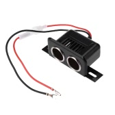 KKmoon Car Cigarette Lighter Splitter Power Socket Adapter 2 Ports 12V