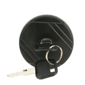 Locking Petrol Diesel Fuel Cap Cover & Two Keys for Transit MK6 2000-2006