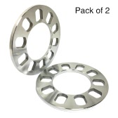 Tirol 2Pcs Universal 5 Hole Disc Brake Spacer Kit 12mm Thick Wheel Spacer