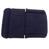 SUV Car Air Mattress Travel Bed  Back Seat Cover Inflatable Blow Up Cushions Single Flocking Surface Multifunction for Camping Journey