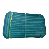SUV Dedicated Car Cushion Air Bed Bedroom Inflation Thick Outdoor Travel Back Seat Cover Mattress Flocking Surface Camping Journey