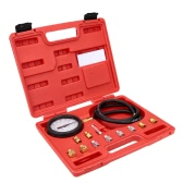 Wave Box Pressure Meter Oil Pressure Tester Gauge Test Kit Garage Tool