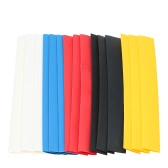 30pcs Polyolefin Heat Shrink Tubing Tube Sleeving Wrap Wire Cable Kit 2:1 Shrink Ratio