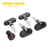 Steelmate TP-72BI Car TPMS Tire Pressure Monitor System 4 Internal Sensors Bar Pressure Unit LED Cigarette Lighter Plug Display