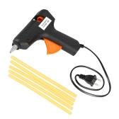 110-240V 40W Hot Melt Glue Gun Paintless Dent Repair Tool US Plug w/ 5pcs Glue Sticks