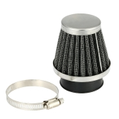 Double Layer Steel Filter Gauze Universal Motorcycle Motorbike Replacement Clamp-on Air Filter 50mm Mushroom Head Cleaner for Scooter Minibike ATV