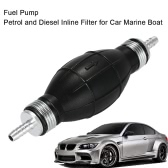 6mm Fuel Bulb Hand Pump Inline Fuel Pipe for Car Marine Boat