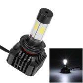 Pair of 80W 9600LM H7 Car High Power COB LED Headlight Fog Light  Kit 6000K White
