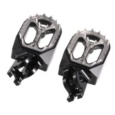 Pair of Motorcycle Dirt Bike Foot Pegs Footrest Foot Rest for Honda CR125/CR250 2002-2008 / CRF150R 2015 / CFR250X/CFR250R 2004-2015 / CRF450X/CRF450R 2002-2015