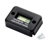 Vibration Hour Meter for Motorcycle ATV Snowmobile Boat Waterproof