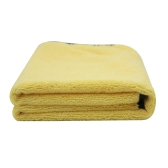 Large Size Microfiber Car Cleaning Towel Cloth Multifunctional Wash Washing Drying Cloths 92*56cm Yellow