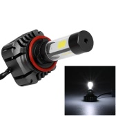 Pair of 80W 9600LM H8 H9 H11 LED Headlight Fog Light COB All-In-One High Power Upgrade Replacement Bulb Kit 6000K White