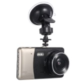 "KKmoon 4"" Dual Lens 1080P HD Car DVR Dash Cam Camera Camcorder"