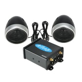 Aileap 600W 2 Channel Amplifier Audio Speaker Sound System for Motorcycle ATV Boat and 12 Volt Applications