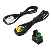 KKmoon USB AUX Audio Cable Switch Plug for VW Passat B6 B7 CC Touran POLO Facelift RCD510+/310+