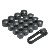 Set of 16+4pcs Universal 17mm Car Wheel Nut Bolt Covers Locking Caps