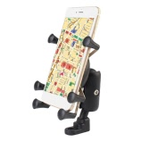 Universal Motorcycle E-bike Mobilephone Mount Bracket Stand Holder for Samsung iOS iPhone6 6s 6plus