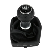 5 Speed Gear Shift Knob Gear Stick Gaiter Boot Replacement Kit for Audi A3 2000-2003