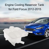 Antifreeze Reservoir Engine Cooling Reservoir Tank Fluid Overflow Bottle Housing for Ford Focus 2012-2015