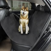 TIROL Pet Seat Cover Waterproof Convertible Hammock Car Back Seat Cover Cushion