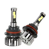 KKmoon Pair of 9007 HB5 DC 12V 40W 4000LM 6000K LED Headlight Lamp Kit Light Bulbs
