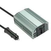 400W Power Inverter DC 12V to AC 220V Converter with 2.1A Dual USB Car Adapter
