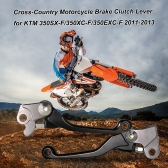Cross-Country Motorcycle Brake Clutch Levers for KTM 350SX-F/350XC-F/350EXC-F 2011- 2013