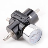 Universal Car Adjustable 140PSI Fuel Pressure Regulator with Gauge