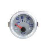 "Water Temperature Meter Gauge with Sensor for Auto Car 2"" 52mm 40~120Celsius Degree Blue Light"