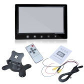 "9"" TFT LCD Car Rearview Color Monitor for VCD DVD GPS Camera"