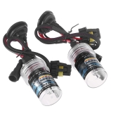 2pcs H9 35W 6000K HID Xenon Replacement Bulb Lamps Light Conversion Kit Car Head Lamp Light