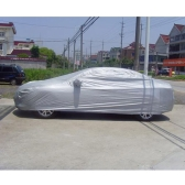 Full Car Cover Indoor Outdoor Sunscreen Heat Protection Dustproof Anti-UV Scratch-Resistant  Sedan Universal Suit M