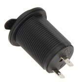 12-24V  Accessory Power Socket Waterproof Motorcycle Motorbike Cigarette Lighter Socket