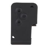 3 Buttons Replacement Key Card Shell Case for Renault Clio Megane Grand Scenic