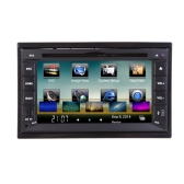 "Universal 6.2"" 2 Din Mirror Link Connect Android Cellphone Car DVD/USB/SD Player 3G WiFi Bluetooth GPS Radio HD Car Entertainment System"