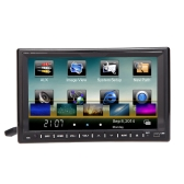 "Universal 7"" 2 Din Mirror Link Connect Android Cellphone Car DVD/USB/SD Player 3G WiFi Bluetooth GPS Radio HD Car Entertainment System"