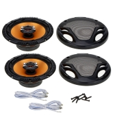 "Pair of High Performance 6.5"" Coaxial Car Loud Audio Speaker Tweeter Perfect Music Sound Loudspeaker for Car"